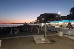 Strand om aften